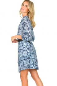 Set |  Skirt with tie dye print Ysa | blue  | Picture 5