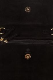 Hipanema |  Suede shoulder bag Starlet | black  | Picture 5