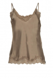 Gold Hawk |  Silk top Elin | grey  | Picture 1