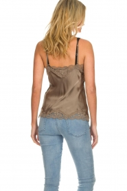 Gold Hawk |  Silk top Elin | grey  | Picture 5