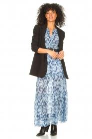 Set |  Midi skirt with tie dye print Ysa | blue  | Picture 3