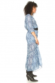 Set |  Midi skirt with tie dye print Ysa | blue  | Picture 6