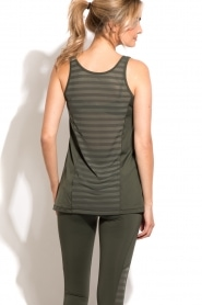 Tanktop Sheer Mesh | green