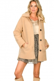 Set |  Teddy coat Moby | brown  | Picture 4