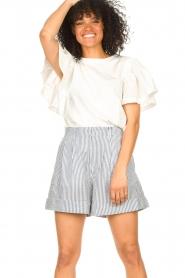 Set |  Striped short Henny | blue  | Picture 4