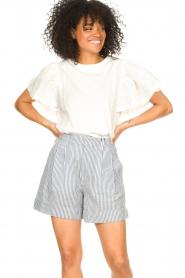 Set |  Striped short Henny | blue  | Picture 2