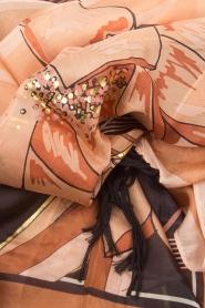 Hipanema | Sjaal Flover | nude  | Afbeelding 4