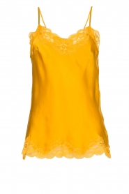 Gold hawk | Silk top Elin | yellow