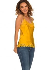 Gold hawk | Silk top Elin | yellow  | Picture 2