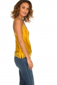 Gold hawk | Silk top Elin | yellow  | Picture 4