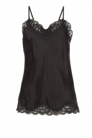 Gold hawk | Silk top Elin | black  | Picture 1