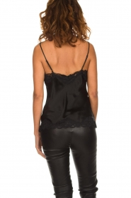 Gold hawk | Silk top Elin | black  | Picture 4