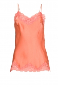 Gold hawk | Silk top Elin | pink  | Picture 1