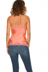 Gold hawk | Silk top Elin | pink  | Picture 6