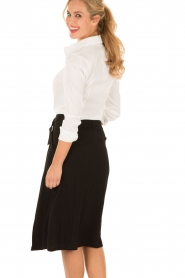 Midi skirt East | black