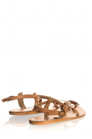 Laidback London | Leather sandals Fay | camel  | Picture 5