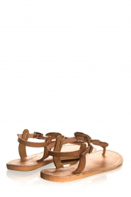 Laidback London | Leather sandals Emma | brown  | Picture 4