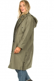 Set |  Long parka Mila | green  | Picture 5