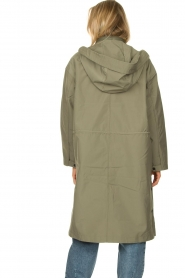 Set |  Long parka Mila | green  | Picture 6
