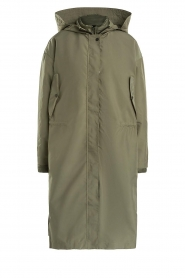 Set |  Long parka Mila | green  | Picture 1