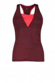 Sporttop Down Town Tank | paars