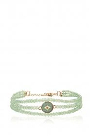 Hipanema | Armband Celestine | groen  | Afbeelding 1