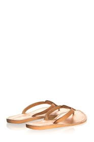 Laidback London | Leather flip-flops Sophie | white  | Picture 4