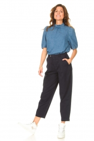 Set |  Trousers Bird | blue  | Picture 3