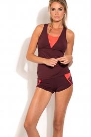 Casall | Sport shorts Urban | paars  | Afbeelding 2