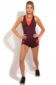 Casall | Sport shorts Urban | paars  | Afbeelding 3
