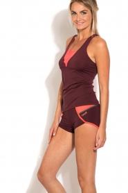 Casall | Sport shorts Urban | paars  | Afbeelding 4