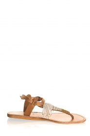 Laidback London | Leather sandals Tess | brown  | Picture 1