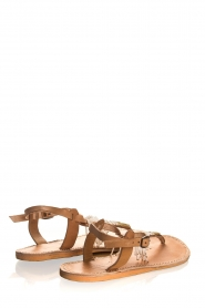 Laidback London | Leather sandals Tess | brown  | Picture 6