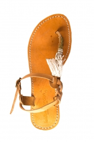 Laidback London | Leather sandals Tess | brown  | Picture 5