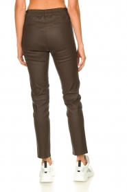 Arma |  Leather pants Chatou | brown  | Picture 6
