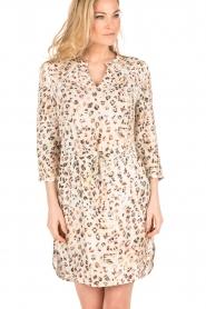 Aaiko | Luipaard jurk Evelyn | print  | Afbeelding 2