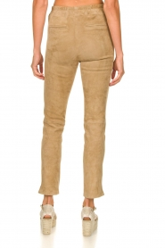 Arma :  Suede pants Chatou | beige - img7