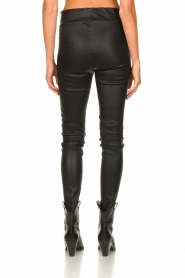 Arma :  Lamb leather stretch pants Saint | black - img7