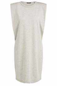 Set |  Sleeveless cotton dress Gia | grey  | Picture 1