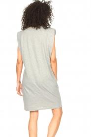 Set |  Sleeveless cotton dress Gia | grey  | Picture 7