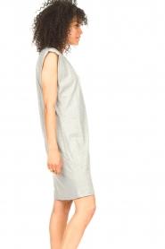 Set |  Sleeveless cotton dress Gia | grey  | Picture 6