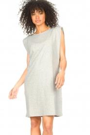Set |  Sleeveless cotton dress Gia | grey  | Picture 2