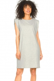 Set |  Sleeveless cotton dress Gia | grey  | Picture 5