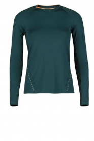 Long sleeve sporttop District | blauw