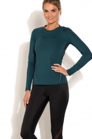 Casall |  Longsleeve sports top District | blue  | Picture 2