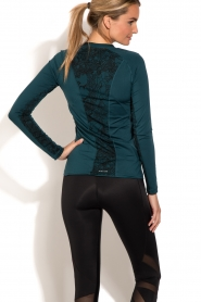Casall |  Longsleeve sports top District | blue  | Picture 5