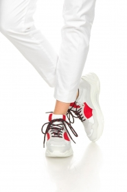 IRO |  Chunky sneakers Curve Runner | white  | Picture 3