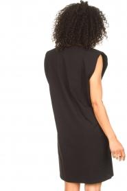 Set | Mouwloze katoenen jurk Gia | zwart  | Afbeelding 7