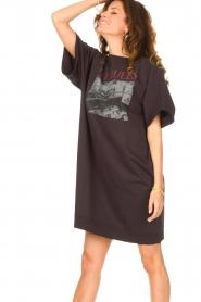 Set |  T-shirt dress Sabien | black  | Picture 5