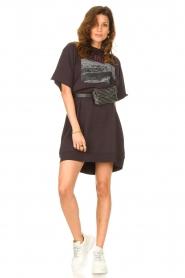 Set |  T-shirt dress Sabien | black  | Picture 3